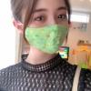市川美織が4歳児のマスクをした結果wwwwwwwwwww