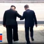 北朝鮮・金正恩委員長が韓国・ムン・ジェイン大統領を奈落の底に落とす動画が話題に