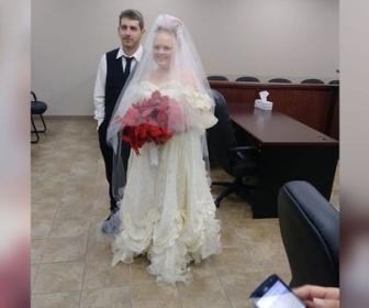 【USA】米カップル、結婚式直後に車事故で死去 テキサス州
