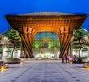 世界で最も美しい駅14選(6位)に国内で唯一選ばれた「金沢駅」が美しい