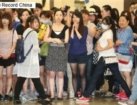 キムタクが台湾入りした結果wwwwwwwwwww