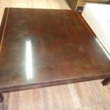 『丸亀市にフランス製のテーブルのメンテナンス』の画像