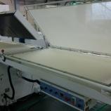 『ハシマ HP-125FA 横トレー付き 平型オートプレス(接着機)!』の画像