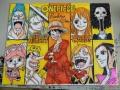 【悲報】尾田栄一郎が色紙にサラサラっと描いた絵wwwww(画像あり)