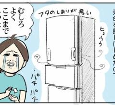 決断!新しい冷蔵庫を購入