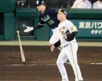 阪神中継ぎ陣が踏ん張れず…馬場、小野、湯浅3人そろって失点