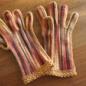 №150-3 オランジュ(プロバンスシリーズ)でかぎ編み手袋 3
