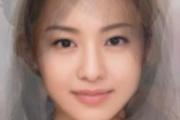 【画像】日本人女優の平均顔www