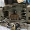 【シボレーV8エンジン】エーデルブロックキャブ→ホーリーダブルポンパーキャブ ガレージでDRAGサニーのキャブ交換