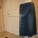 『irise(イリゼ)フレイドジーンズスカート』の画像
