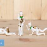 招き猫とマネキンが合体!「マネキンネコ」がマスコットフィギュアになってガチャに登場!