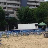 『夏祭りの音響と照明と仮設舞台』の画像
