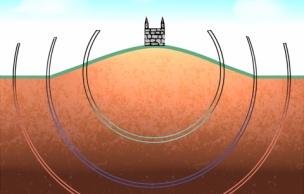 壁の全容は半球体なのかシャーレ状なのか。謎が残る壁の形とは!?