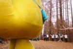 怪獣と犬が観光ガイドをしながら機物神社とか源氏の滝とか行くそうな!