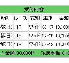 今週の菊花賞は「穴馬出走G1レース」となるため、穴のCランクレース指定となります。