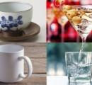 「湯呑み」「カクテルグラス」「マグカップ」選んだコップで分かる「あなたの本音」がわかる