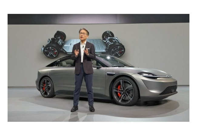 【朗報】ソニー、自動車参入