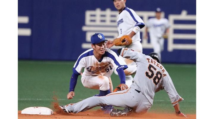 【 朗報 】巨人・立岡、3盗塁!