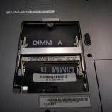 『Dell inspiron5100メモリスロットのハンダ割れの修理』の画像