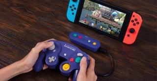 Nintendo SwitchでGCコントローラーなどの有線コントローラーがワイヤレスで利用できるようになるアダプターが登場!