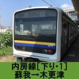 『内房線 車窓[下り・1]蘇我→木更津』の画像