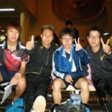 『平成25年度仙台市春期卓球リーグ戦』の画像