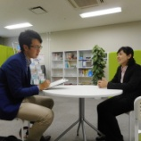 『金子真理子企画広報コーディネーターが中日新聞の取材を受けました!』の画像