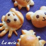 『夏休み親子教室の試作 動物パン』の画像