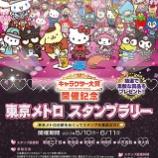 『「2017年サンリオキャラクター大賞」開催記念 東京メトロスタンプラリーを開催!』の画像