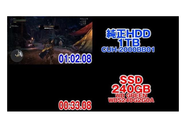 【朗報】ワイのPS4、SSDにしたらロードが超速くなる