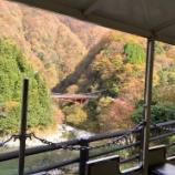 『宇奈月トロッコ電車に乗って紅葉を見てきました』の画像