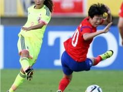 【動画】なでしこ×韓国、前半終了!DF中島のシュートが決まり1-0!