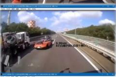 【動画】ポルシェ暴走死亡事故、ドラレコ映像が流出