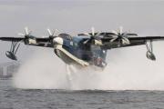 辛坊氏を救出した海自飛行艇のスゴさ 水陸両用の「US-2」