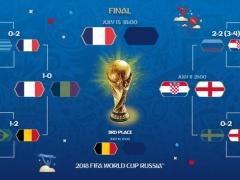 今日クロアチアとイングランドどっち応援する?