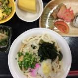 『今日の桜町昼食(ぶっかけわかめうどん)』の画像