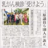 『(埼玉新聞・東京新聞)戸田でピンクリボンウォーク』の画像