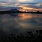 『筑波山の日の出 ムービー☆母子島遊水地』の画像