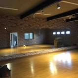 『ダンススタジオ 音響工事 完了』の画像
