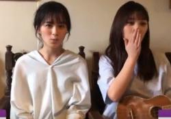 ワロタw 大園桃子&与田祐希、なんで口パクに声あててんの?wwwww