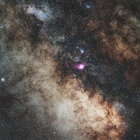 『シグマ105mmF1.4DG Artによる天の川銀河中心方向』の画像