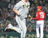"""""""アンハッピー""""阪神・サンズ 34歳の誕生日も4タコ 最後の打者に"""