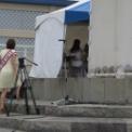 2013年湘南江の島 海の女王&海の王子コンテスト その31(ガッツポーズの海の女王2012)