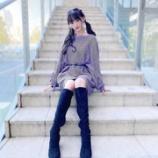 『[イコラブ] 音嶋莉沙「紫ニット新鮮だったかな…?? 久しぶりにツインテール…」』の画像