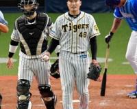 【阪神】秋山5回1失点。「ストレートの走りが悪く…」