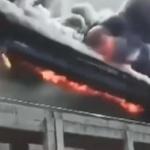 【動画】中国、製鉄所のベルトコンベアが次々に崩れ落ちて大崩壊!大火災に…!