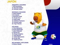 コパアメリカ日本代表メンバーの背番号・・・川島は1番で岡崎は9番じゃない件・・・