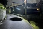 漆黒の闇みたい・・・夜になると出現する異世界への入り口?〜交野市と寝屋川市の市境のところ〜