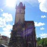 『チェコ旅行記28 必見!晴れた日の旧市庁舎から見るプラハが素晴らし過ぎる』の画像