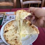 『【インドカレー】リアル@狭山 - チーズナン』の画像